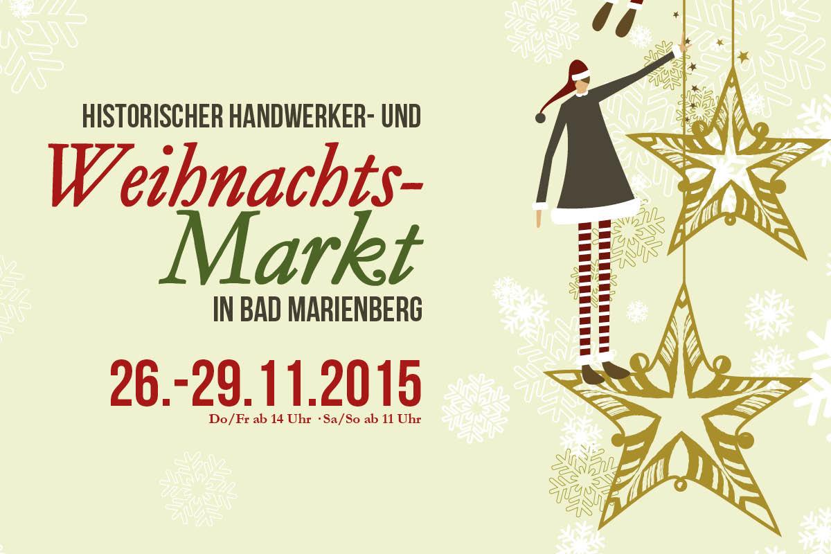 Weihnachtsmarkt in Bad Marienberg